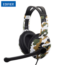 Edifier G10 Gaming Headset 7.1 Virtual Surround Sound Game Headset Headphone Noise Cancelling With Microphone 2.5m USB Cable