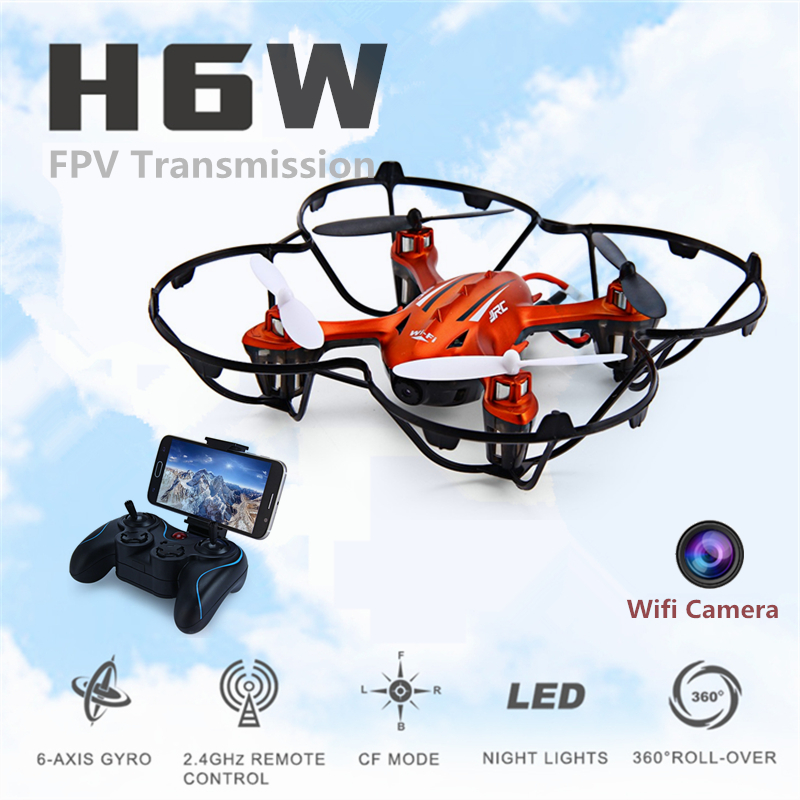 Mini Fpv Quadcopter Camera HD Wifi Real-time Transmission Dron Jjrc H6w Rc Drones Remote Control Toys Flying Rc Helicopter