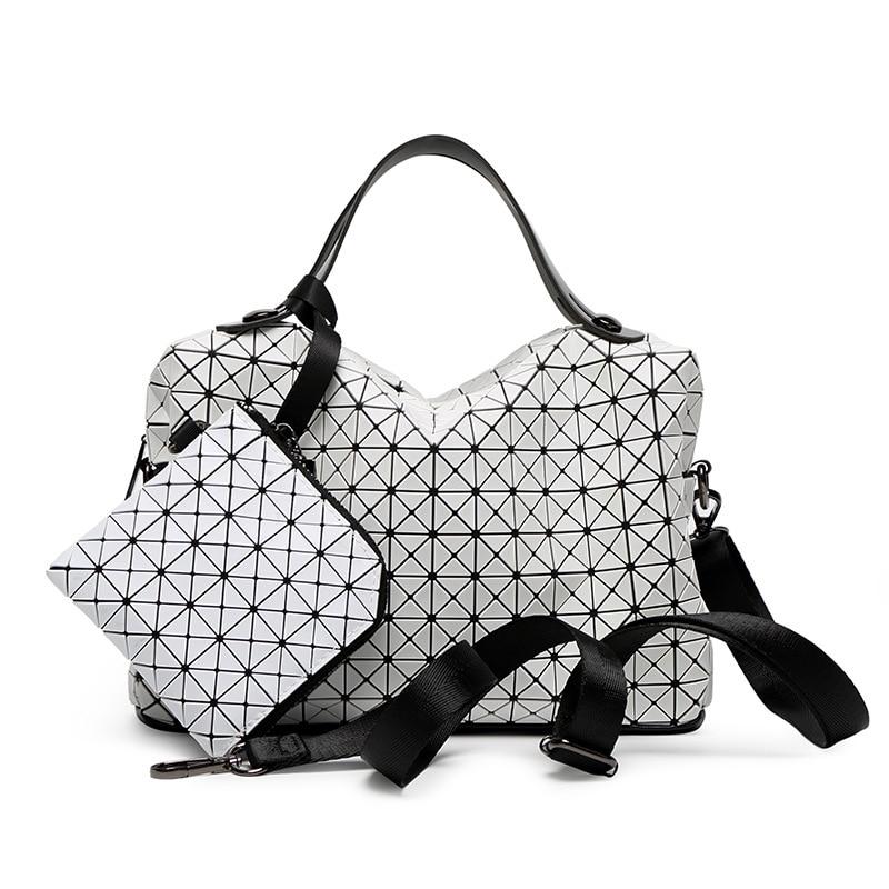 European Style Women shoulder Bag tote Big Geometric Issey Miyak Bag Luxury Brand Designer High Quality Handbag 794<br>