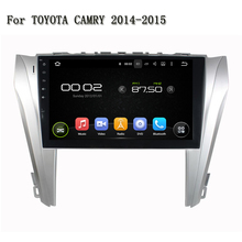 10.1 Inch Android 5.1.1 16G ROM 1G RAM High Definition Car Entertainment System For TOYOTA CAMRY 2014-2015 With Quad Core(China)