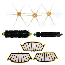 Durable Filters Brush Kit Parts For iRobot Roomba 500 510 530 535 540 570 550 560 Series(China)