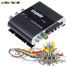 Onever Black 2.1 3 Car Channel Stereo Mini Computer Car Amplifier Subwoofer Out Amplifier Lepai LP-838 Ideal audio amplifier