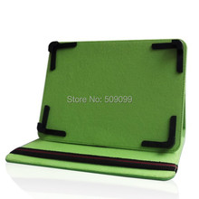 Green 8 inch PU Leather Case Flip Cover Universal Adjustable 8 inch Case Cover With stand for 8 inch Tablet MID PDA 300pcs/lot(China)