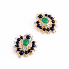 Knot To Be Forgotten Earrings Studs Charm Gold Color New Design Jewellery(China)