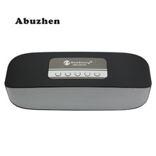 Abuzhen Bluetooth Speaker Portable Mini Speaker for Phone Handsfree Sound AUX USB Music Player for Computer Support TF Card USB(China)