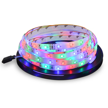 5 colors DC 12V 5M 300LEDs 2835 SMD More Brighter Than 3528 3014 SMD LED Strip light Bar Lamp Lower Price than 5050 5630 SMD(China)