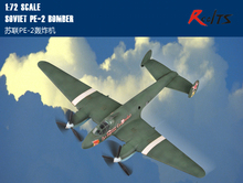 RealTS Hobby Boss model 80296 1/72 Soviet PE-2 Bomber plastic model kit hobbyboss(China)
