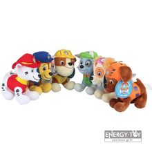 "6pcs/set Children present US cartoon Puppy Dog pet 8"" Ryder Marshall Rubble Chase Rocky Zuma Skye Firemen Stuffed Toy soft plush"