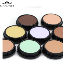 Professional Makeup Base Concealer Foundation Cream Soft Texture Cover Pore Redness Camouflage Contouring Palette Pleasant Smell