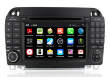 Quad Core Android 5.1.1 HD 1024x600 Car DVD GPS Stereo Radio For Mercedes Benz S Class W220 S280 S420 S320 S350 S400 S500 S600(China)