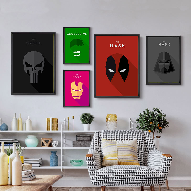 Canvas movie posters