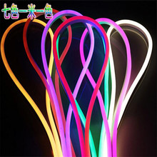 20m/lot LED Neon Lights of the hose lights home ceiling hotel signs modeling 110V 220V Red.Green.Blue.RGB LED Flex Neon Light(China)