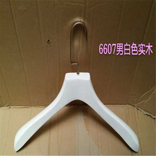 Clothing Hanger Factory Direct White Wood Wooden Hangers(China)