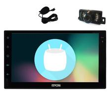"7"" Android 6.0 Car Stereo 2 Din In Dash GPS Navigation Radio Receiver Bluetooth Head Unit Support WiFi  External Microphone OBD2"
