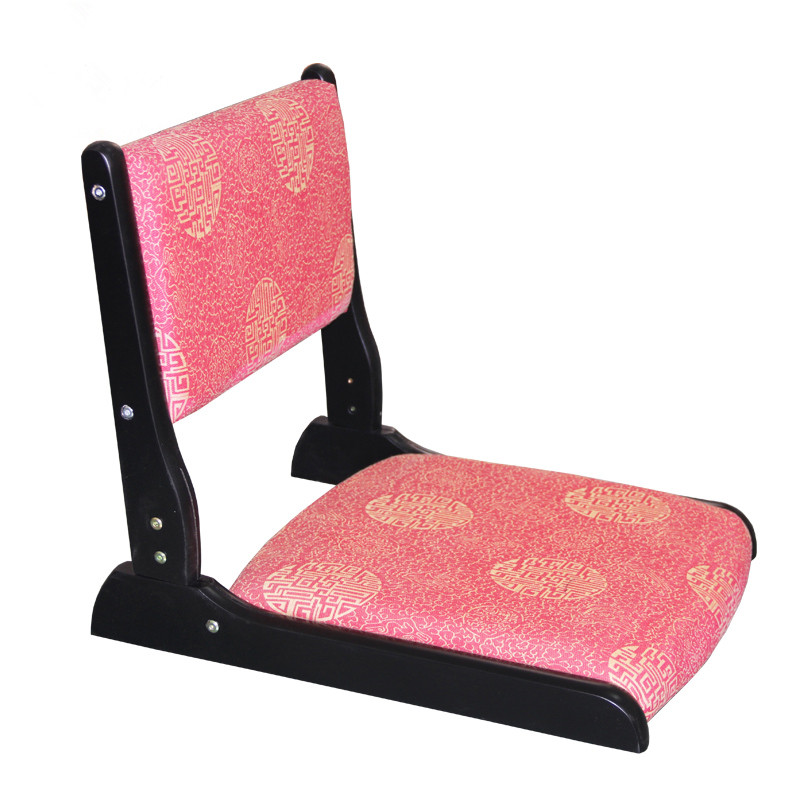 (2pcs/lot)Japanese Tatami Chair Folding Legs Fabric Padded Seat Living Room Seating Furniture Floor Zaisu Legless Chair Design<br><br>Aliexpress