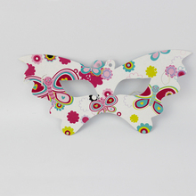Wholesale Birthday Party Decorations Kids Boy Girl Baby Happy Birthday Party Decoration Supplies Favors Butterfly Mask 24pcs/lot