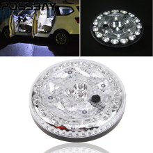 White LED Roof Ceiling Interior Reading Dome Light For Car Trailer RV 12V DC For Honda/Kia/Audi/BWM/Lada/Vodka/Cadillac/GMC/etc(China)