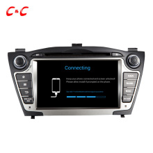 Updated Android 6.0 Car Radio DVD Head Unit for Hyundai iX35 Tucson with Quad Core 1.6G CPU GPS BT 4G WiFi, Audio Video System(China)