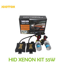 JCOTTON HID Xenon Kit 55W Car Auto Headlight bulb H1 H3 H7 H8 H9 H11 4300K 5000K Replacement LED Head Light Auto Kit Headlamp