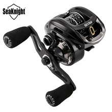 SeaKnight POTM 7.6:1 High Speed Baitcasting Reel 12BB 5KG Power C60 Carbon Fiber 155g Ultra-Light Fishing Coil 13g Shallow Spool(China)