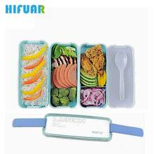 Buy HIFUAR Lunch Box Microwave Food Container Compartments Lunch Bento Boxes School Lunch Box Kids Plastic Bento Box Set for $7.26 in AliExpress store