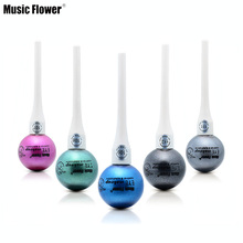 Music Flower Single Color Glitter Liquid Eye Liner Metallic Eye Shadow Professional Eye Makeup(China)