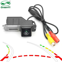 Intelligent Dynamic Trajectory Tracks Reversing Backup Rear View Camera For VW Volkswagen Polo Golf 6 Passat CC 2008-2014(China)