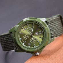 Hot Sale Boy Students Military Watches Climbing Relojes Hombre Fashion Casual Sport Men Clocks Canvas Straps Army Men Wristwatch