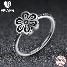 Floral Daisy Lace 925-Sterling-Silver Vintage Wedding Band Engagement Ring Compatible with Sterling Silver Jewelry GO7180