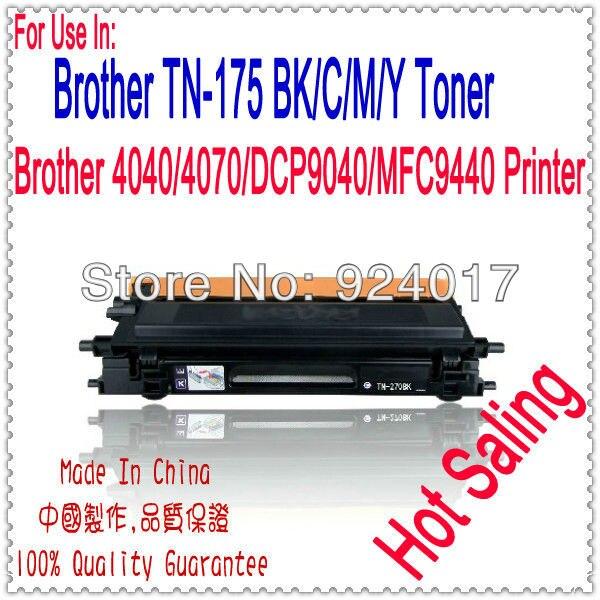 Reset Toner For Brother HL-4040/4050/DCP-9040/MFC-9440/9450 Printer Laser,TN175 TN-175 TN175BK C/M/Y Toner For Brother Printer<br>