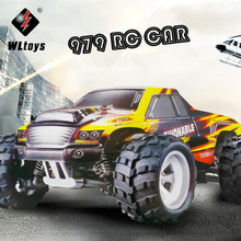 Buy 1:18 70KM/H WLtoys A979 Remote Control Car 4WD RC Electric Off-Road Bigfoot Cross-country Rock-climber Climbing Buggy Drift 2.4G for $74.55 in AliExpress store