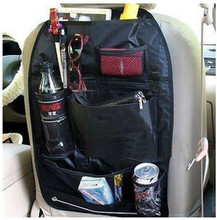 Free shipping Car multi Pocket Storage Organizer Arrangement Bag of chair fit for focus golf Polo Clio IV Aqua alto Aqua(China)