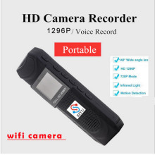 Free shipping!HD 1296P Novatek 96650 Pen Camera DVR Body Police Pocket Camera Loop Recording(China)