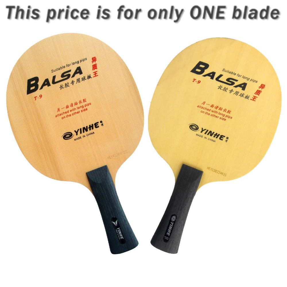 Galaxy Milky Way Yinhe T-9 T 9 T9 Table Tennis Blade Suitable for Long-pips for Ping Pong Racket<br>