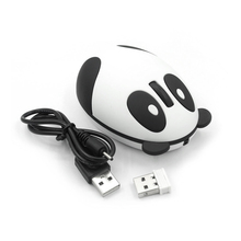 2.4GHz Wireless Optical Panda Computer Mouse for Win/Mac/Linux/Andriod/IOS Brand New