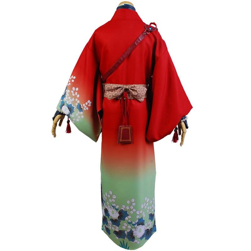 DMMD DRAMAtical Murder Koujaku Kimono Cosplay Costume (4)
