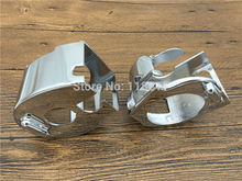 RPMMOTOR RPMMOTOR CHROME BILLET SWITCH HOUSING COVERS for Kawasaki Vulcan 2000 900 VN VN900 VN2000