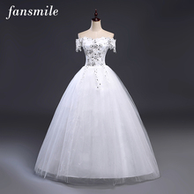 Buy Fansmile Vintage Lace Robes de Mariee Ball Wedding Dresses 2017 Plus Size Bridal Dress Wedding Gowns Free for $45.60 in AliExpress store