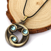 Dota 2 Dodge Talisman Necklace Gaming Peripheral Accessories Game Dota 2 Necklace Pendants Jewelry Wholesale&Retail HC11528(China)