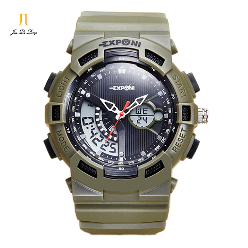 2017 New Fashion Multifunction Brand Digital Wristwatches sport watch Water Resistant outdoor military casual wristwatches<br>