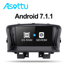 Asottu ZLKLZ7060 2G+32G Android 7.1 car dvd radio player For Chevrolet Cruze 2008 2009 2010 2011 2012 gps radio gps cruze dvd(China)