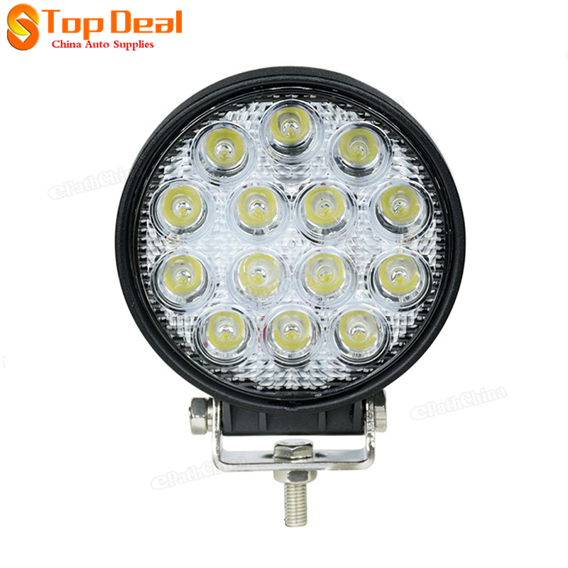 New 42W 14x LEDs Work Light Car / Truck / 4WD Offroad / SUV / ATV Lamp DC 10-30V<br><br>Aliexpress
