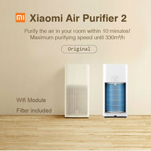 Original Xiaomi Mi Air Purifier 2 HEPA for 30m2 room air cleaning device Mi filtro de aire