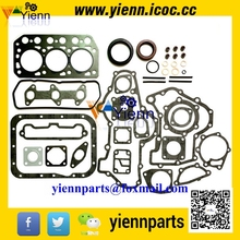 Overhual Gasket Set MM434005 With Head Gasket MM409815 For Mitsubishi Tractors K3E K3E-DI Diesel engine Rebuild kit