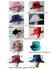 NEW 10 colors Sinamay Church Formal Dress Hat for kentucky derby,wedding in mix style and color.FREE SHIPPING BY EMS.,10pcs/lot