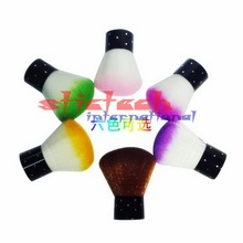 by ems or dhl 500pcs Soft Nail Cleaning Brush Nail Brush Nail Art Manicure Tools Nail Dust Cleaner