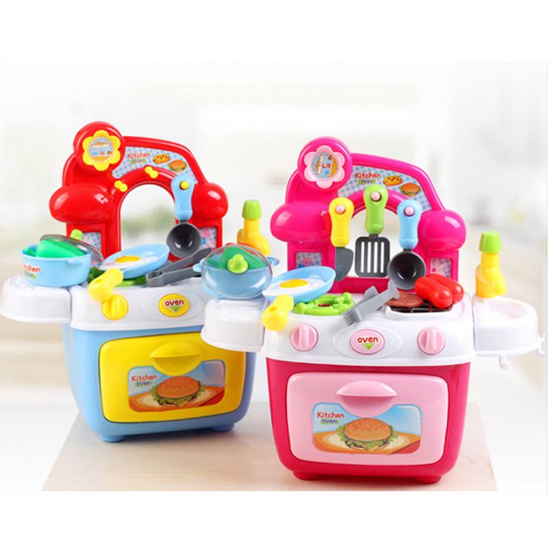 2018 Wholesale New Pretend Play Children\'S Kitchen Toy Kitchen Set ...