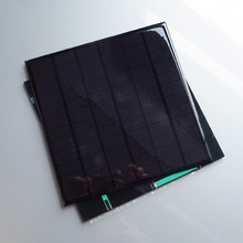 2pcs x 4.5W 18V Mini monocrystalline Mono solar DIY cell battery 5W solar Panel charger for 12V battery education study DIY kits(China)