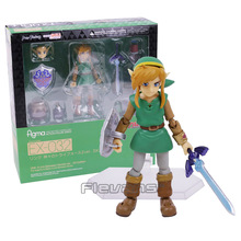 The Legend of Zelda Link A Link Between Worlds Figma EX-032 / Figma 284 PVC Action Figure Collectible Model Toy 2 Types(China)