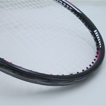 Tennis /Badminton Headband Racket Head Protector Stickers Racquet to Reduce the Impact and Friction Stickers L351